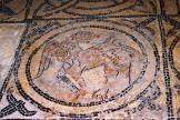Mosaïque de l'abside en cul-de-four - détails de la mosaïque