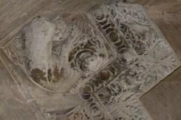 Décoration des chapiteaux - Le lion symbole de Marc l'évangéliste