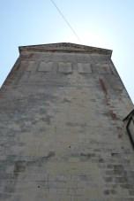 Façades est - croisillon nord du transept avec ses bandes lombardes