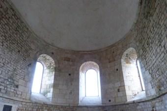 L'abside - coupole