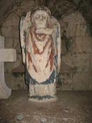 Statue céphalophore de Saint Denis