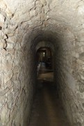 Couloir d'accès à la crypte