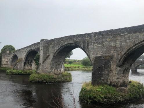 Le vieux pont de Stirling, près de l'endroit où se tenait le pont en bois.