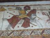 Guillaume d'Orange affronte le géant Isoré - Tour Ferrande à Pernes-les-Fontaines