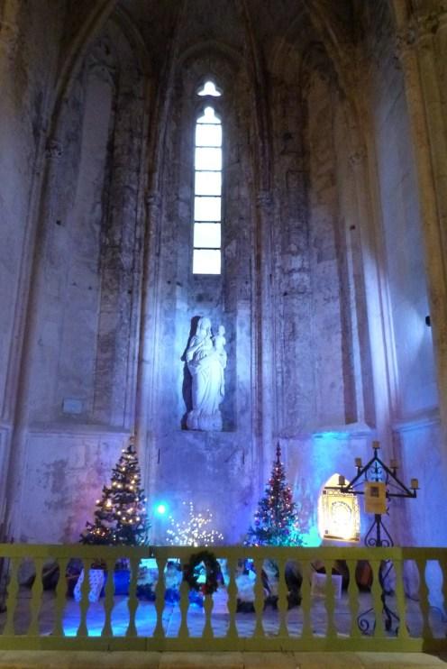La nef - la chapelle de la Vierge (3)