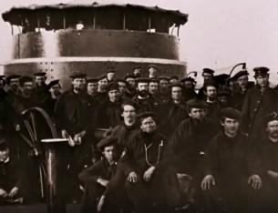 Le Monitor et son équipage