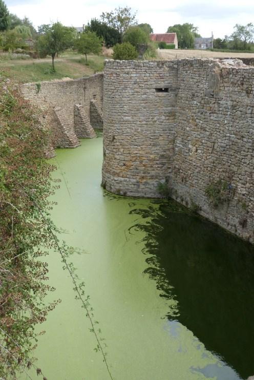 Douves du Château de Sarzay, Indre