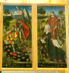 Armoiries de Michel de Chaugy et Laurette de Jaucourt 1