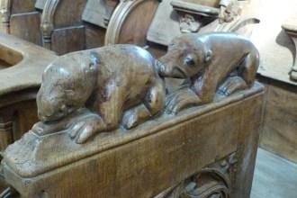 Stalles sculptées (5)