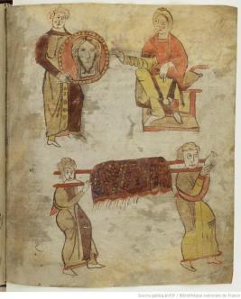 Avec la multiplication des fondations religieuses sous les Mérovingiens se développe le culte des reliques, central dans la culture médiévale.