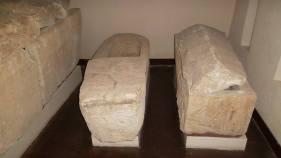 Sarcophages mérovingiens V° siècle - Guiry en Vexin