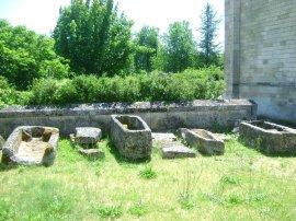 Sarcophages mérovingiens VIIème siècle
