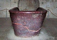 Sarcophage de Théodoric le Grand dans son mausolée