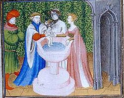 Dagobert Ier, Ragnétrude et leur fils Sigebert III