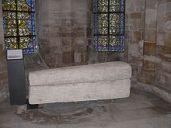 Sarcophage de la reine Aregonde- Basilique Saint Denis