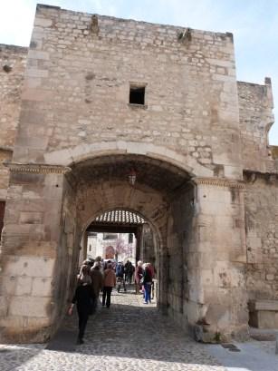 La porte Notre Dame - vue intra-muro