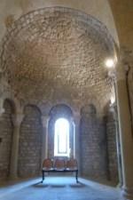 Voûte en cul-de-four de l'abside est