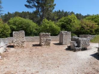 Les piliers de la basilique