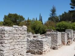 Les piliers de la basiliqu