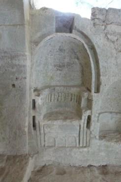 Le siège du prieur