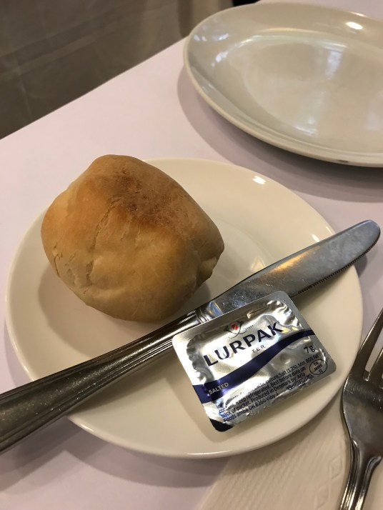 Portuguese cuisine at Escada - bread (warm and good)
