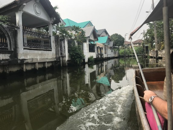 Boat tour at the west of BKK