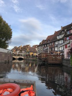 scene from the boat tour in Colmar