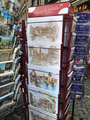 Alsace picture from Colmar souvenir shop