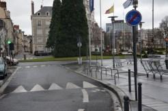 Fin prématurée du DSC de la rue des Murlins avant le faubourg Bannier