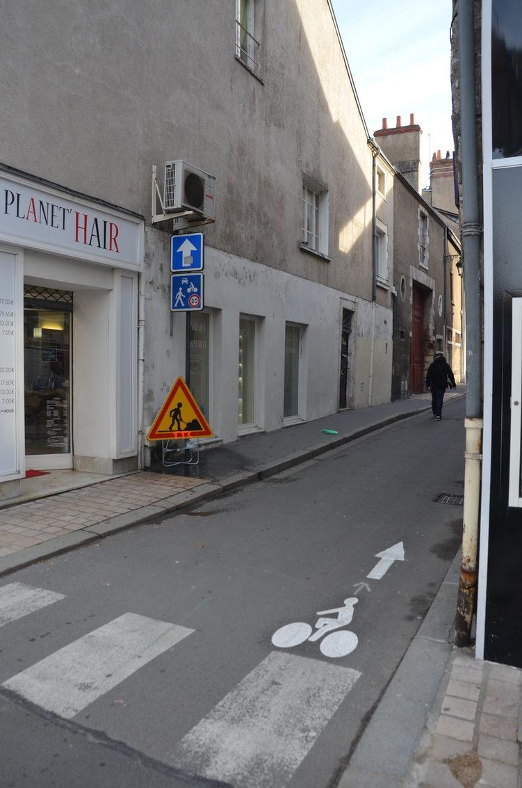 Entrée de la rue des Fauchets