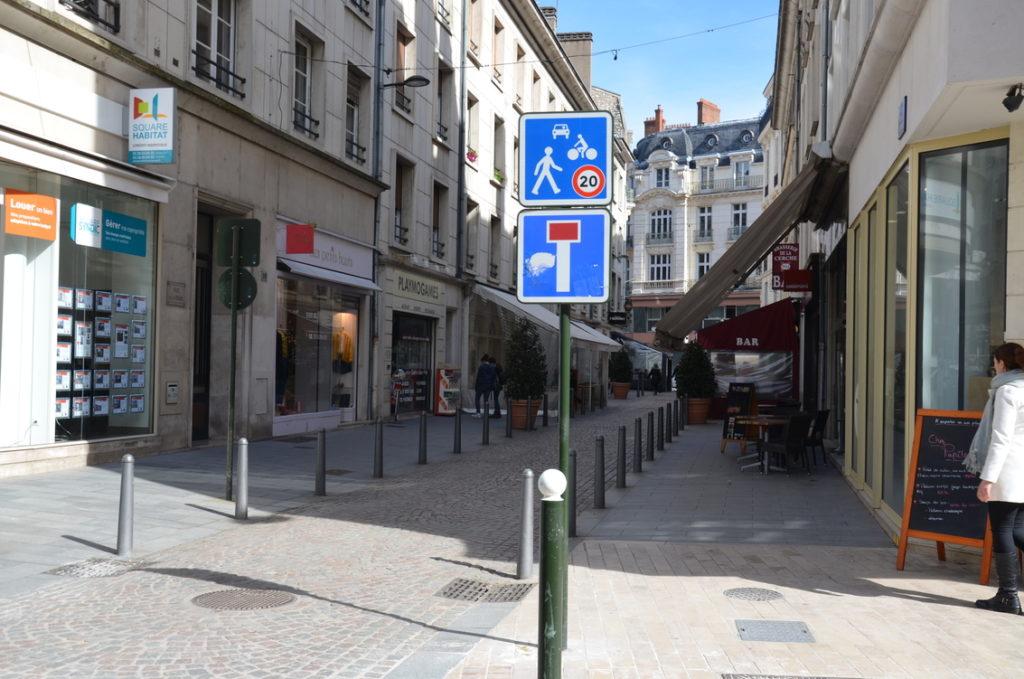 rue de la Cerche - zone de rencontre