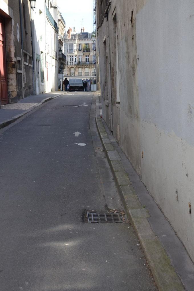 rue des Fauchets - trottoir
