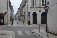 Fin de la zone de recontre au croisement avec la rue d'Illiers