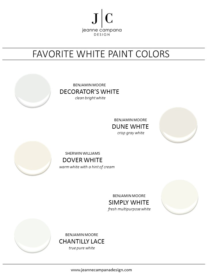 My Favorites White Paint