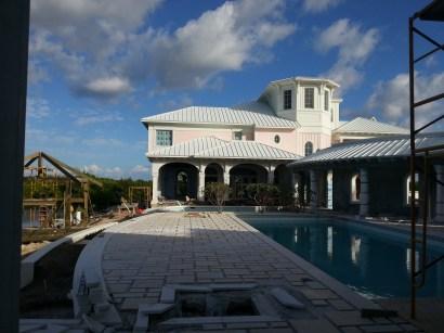 Cayman island villa exterior
