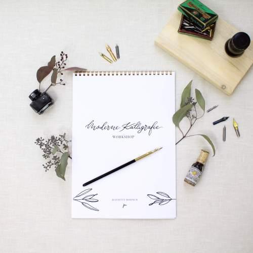 Download Kalligraphie lernen mit dem Übungsheft für Beginner