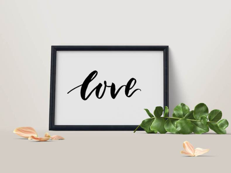 Brushlettering, Kalligraphie, Brush Lettering, Typography, Typo, Pinselstifte, Pinselschrift, Hand Lettering, Molotow