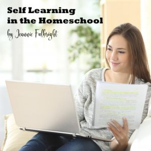 self-learning in homeschool