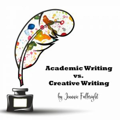 Academic Writing vs. Creative Writing
