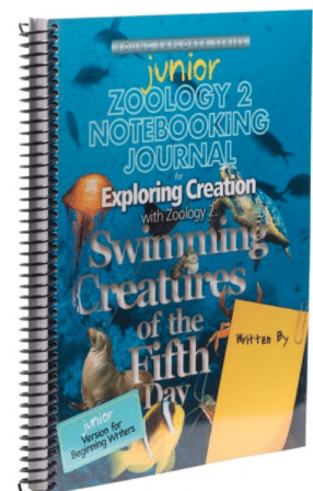 Zoology: Swimming Creatures - Junior Journal Image