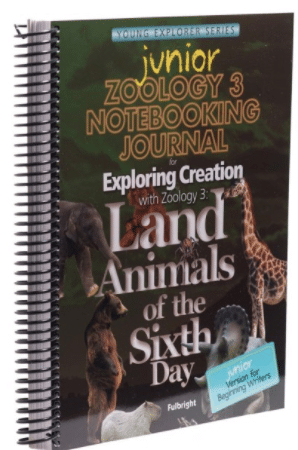 Zoology: Land Creatures - Junior Journal Image