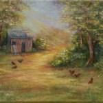 Chicken Coop by Jeannie House