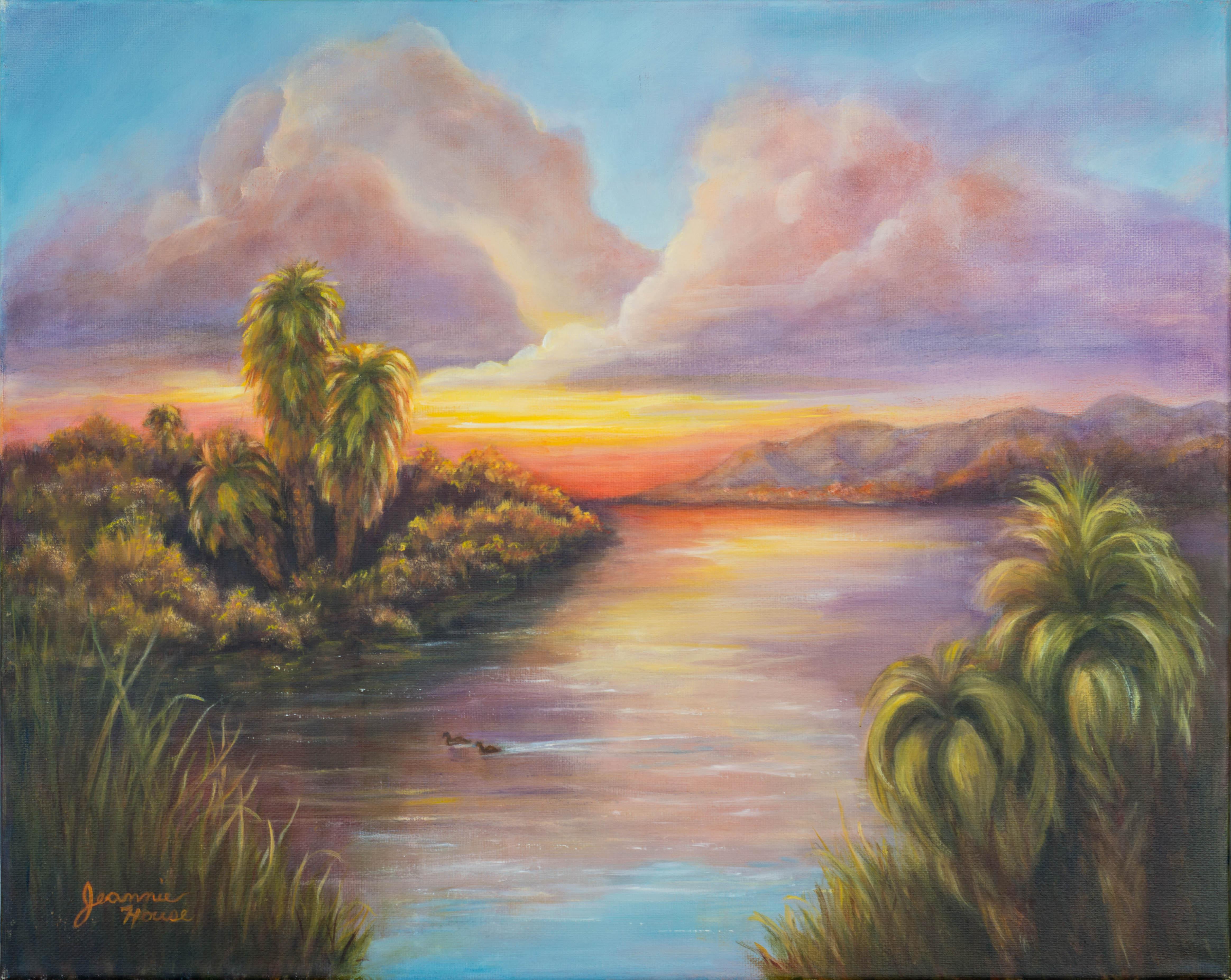Gila Canal by Jeannie House