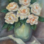 White Rose Bouquet by Jeannie House