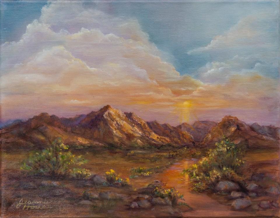 Gila Hills by Jeannie House