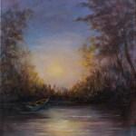 Twilight Boat