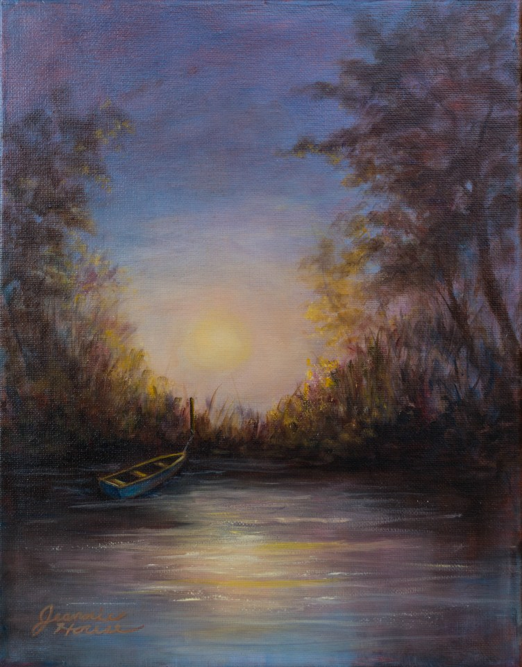 Twilight Boat by Jeannie House
