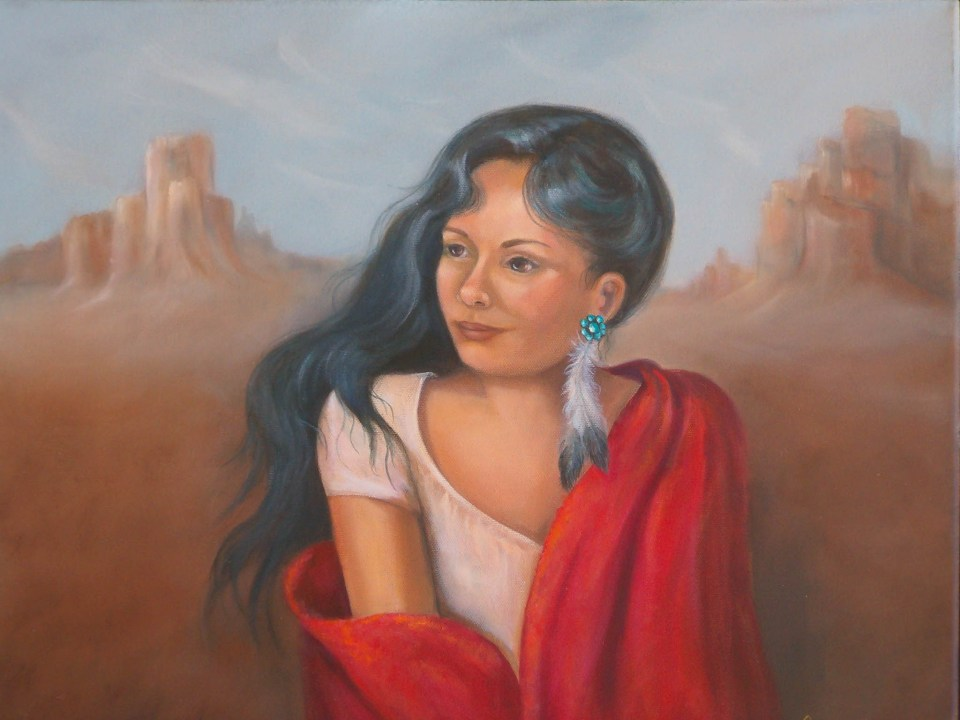 Indian Maiden 1 by Jeannie House
