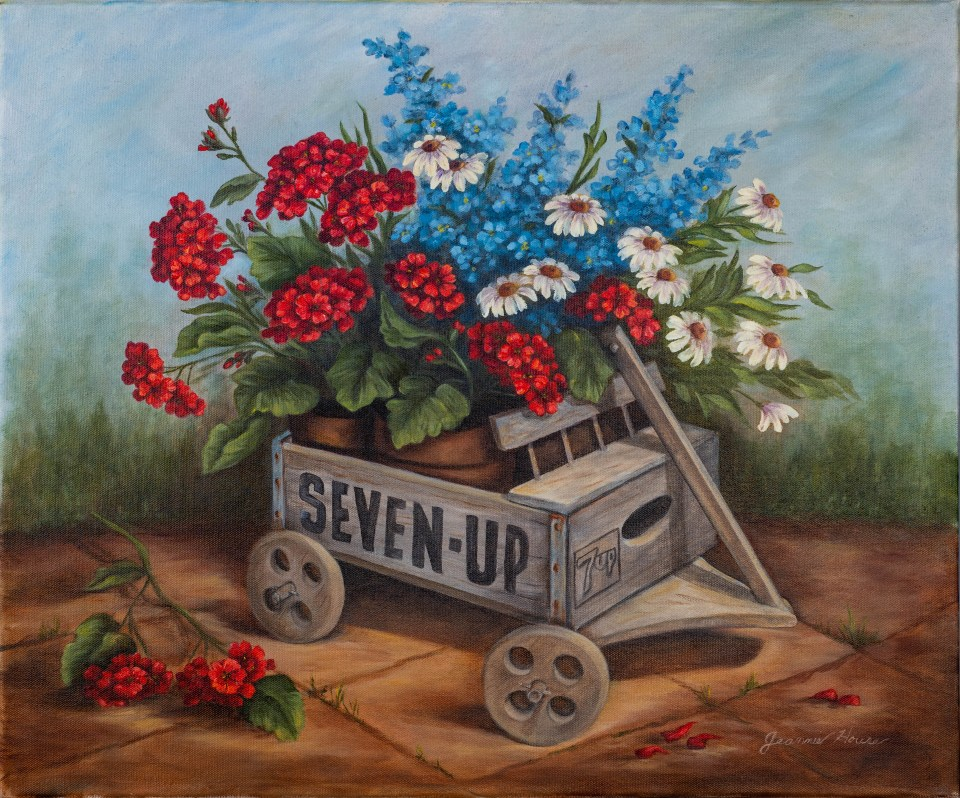 7 Up Wagon by Jeannie House