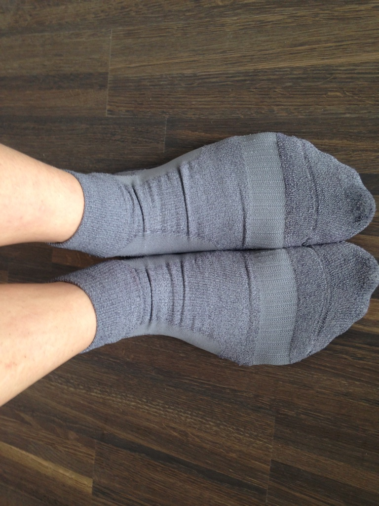 Test C3fit Paper Fiber Socks